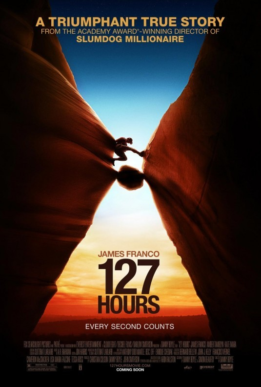 poster of 127 hours movie